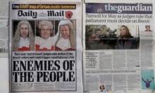 """""""أعداء الشعب""""... هجوم صحافي بريطاني على قضاة """"بريكسيت"""""""