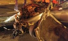 قتيل وإصابات حرجة في حادث بعد مطاردة بوليسية جنوب البلاد