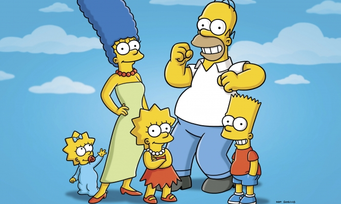 رقم قياسي لعائلة سيمبسون على الشاشة