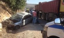 4 إصابات إحداها خطيرة بحادثي سير قرب عبلين والمكر