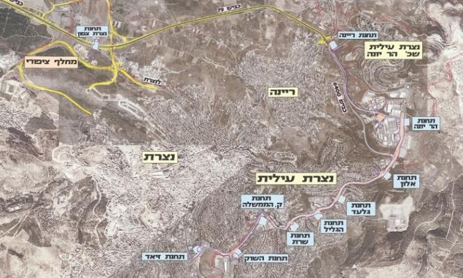 كتلة الجبهة تعترض على مسار قطار الناصرة حيفا