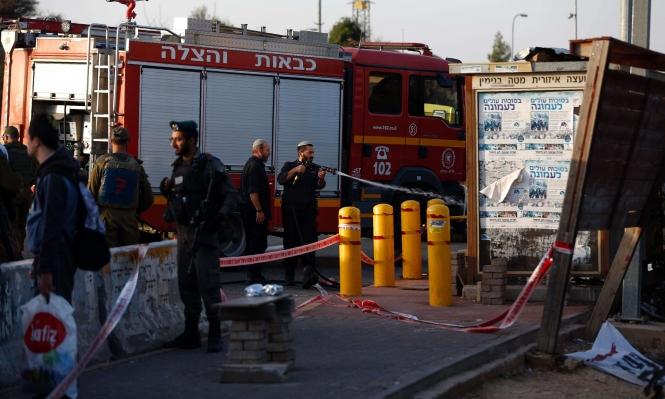 بير زيت: إصابة جنديين إسرائيليين بانقلاب سيارة