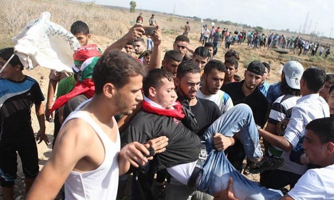 4 إصابات برصاص الاحتلال في غزة