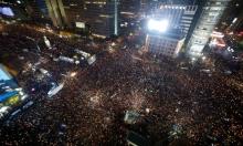 مظاهرات ضخمة في كوريا الجنوبية تنادي بتنحي الرئيسة