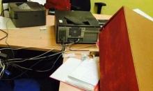 رهط: أعمال تخريب وسرقة ممتلكات في مدرسة