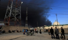 التحالف يقصف الموصل جوا لدحر داعش برا