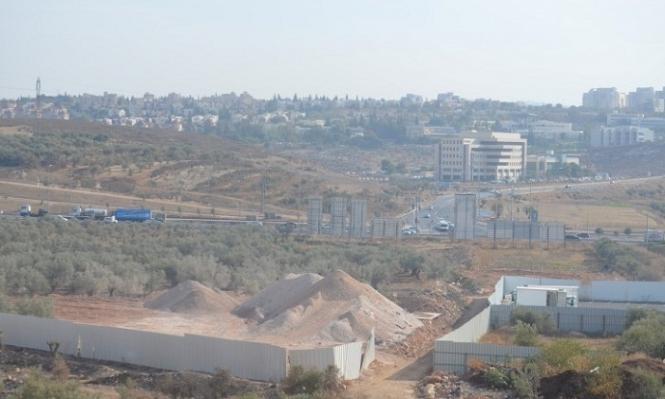البعنة: مصادرة الأراضي لصالح إقامة محور طرق