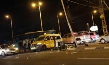 المكر: 5 إصابات إحداها خطيرة في حادث سير مروع