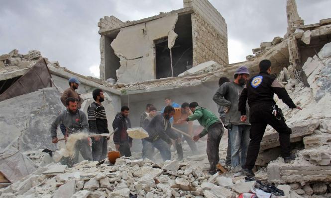 قصف الأطفال بالبراميل المتفجرة: 44 قتيلا مدنيا بحلب وإدلب