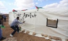 """الاحتلال يهاجم قرية """"ياسر عرفات"""" الرمزية لمواجهة الاستيطان"""