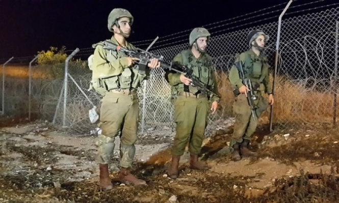 الاحتلال يعتقل فلسطينيين اجتازا حدود غزة