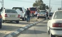 النقب: 8 إصابات في حادث سير مروع