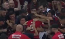 فيديو: حكم يحبط فرحة هستيرية للاعب أسترالي