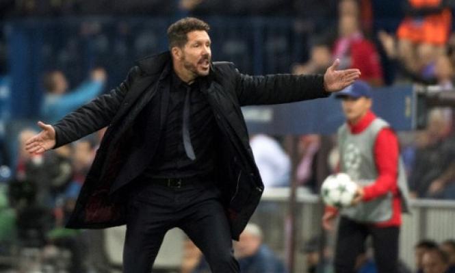 مدرب أتلتيكو مدريد يتلقى أنباء جيدة قبل الديربي