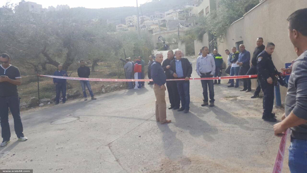 كفر كنا: مقتل عنان حكروش في جريمة إطلاق نار بوضح النهار