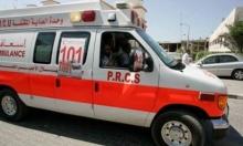 مصرع رضيعة وأصابة 8 آخرين في حادث سير شرق جنين
