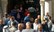كفر كنا: تشييع عنان حكروش ضحية جريمة إطلاق النار