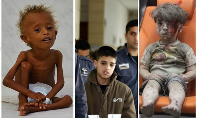 الطفل العربي: بين الجوع وجروح الحروب وسجون المحتل