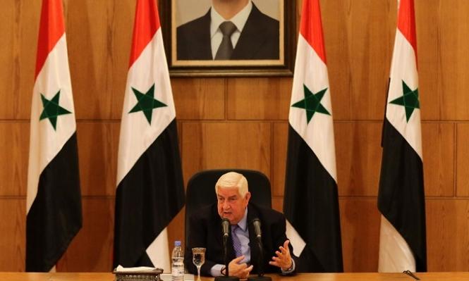 """نظام الأسد يشيد بالسيسي ويرفض """"إدارة ذاتية"""" لحلب"""