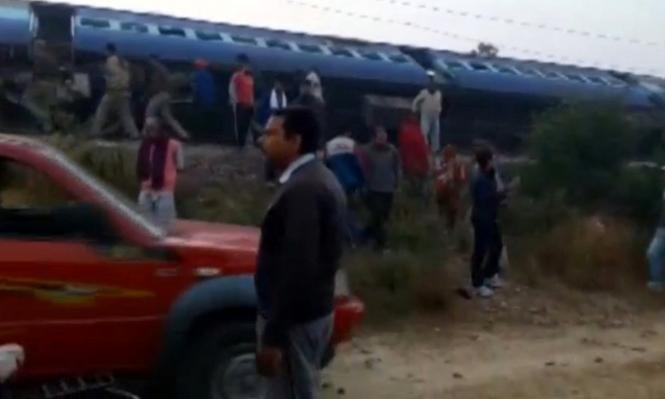 الهند: 91 قتيلا جراء انحراف قطار عن مساره