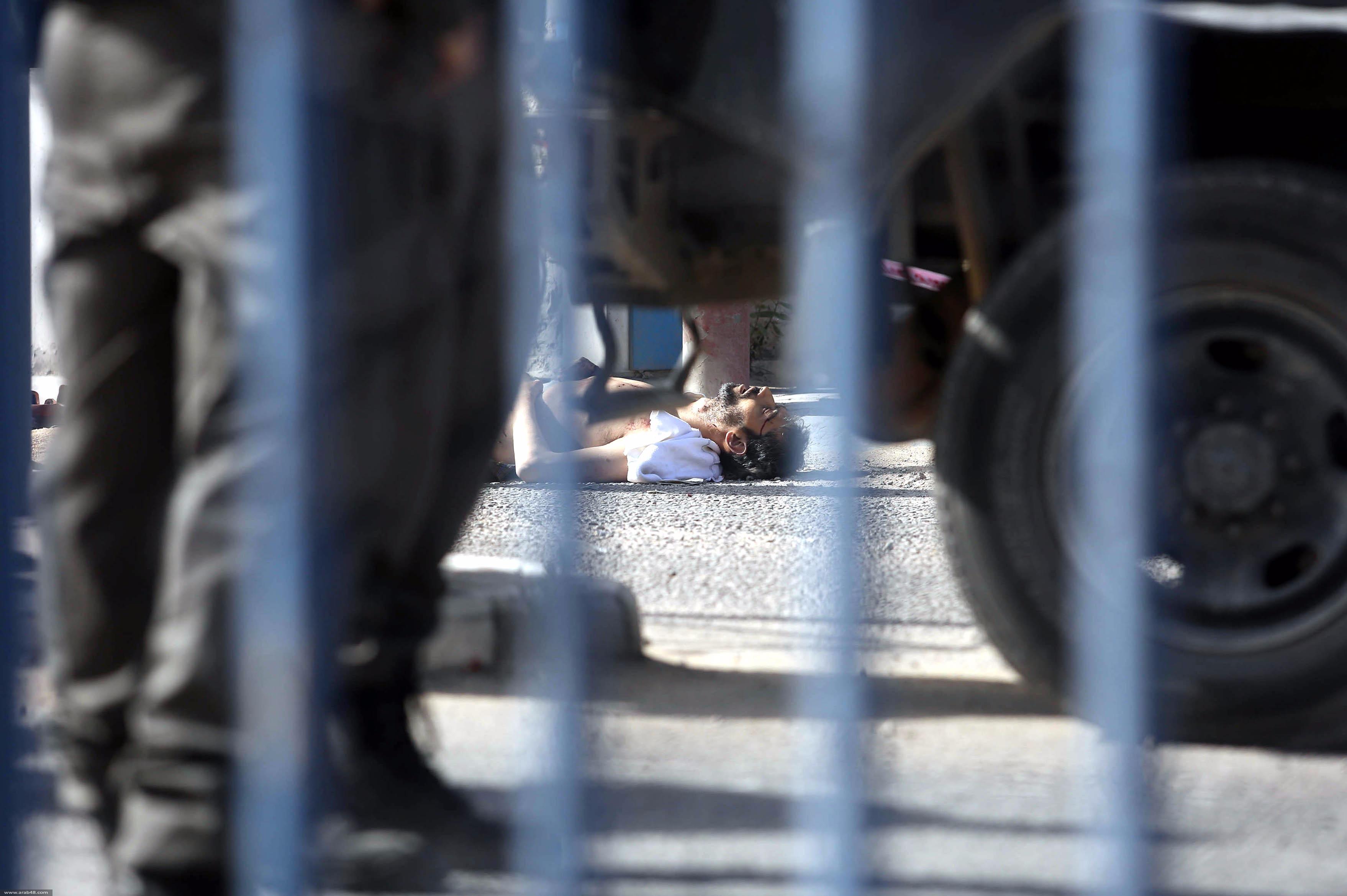 استشهاد فلسطيني على حاجز قلنديا