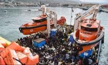 إنقاذ 1400 مهاجر في المتوسط