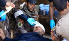 """الموصل: عيادة ميدانية تضيق بضحايا قذائف وقناصة """"داعش"""""""