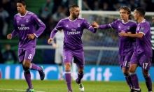 بنزيمة يقود ريال مدريد لثمن نهائي دوري الأبطال