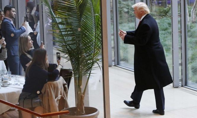 ترامب يود التوصل لاتفاق سلام إسرائيلي - فلسطيني