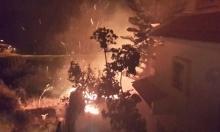 الحرائق تتواصل في البلاد