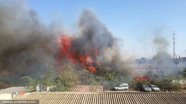 حرائق متواصلة: الجيش الإسرائيلي يستدعى قوات احتياط