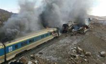 إيران: مقتل 31 شخصا بتصادم قطارين