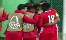 فيديو: هدف من منتصف الملعب بدوري الأبطال