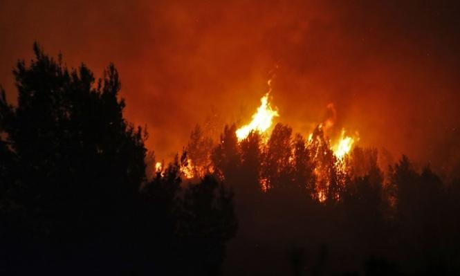 """""""سوبر تانكر"""" تشارك بإخماد الحرائق في إسرائيل"""