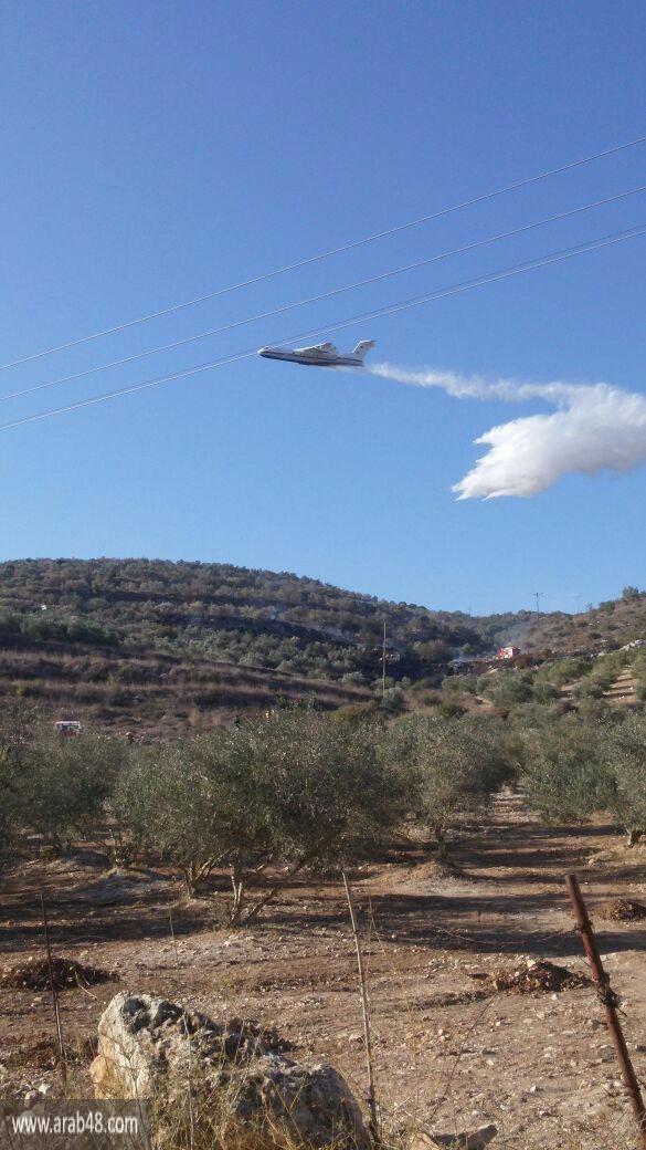موجة الحرائق متواصلة: اندلاع حريق في نتسيرت عيليت
