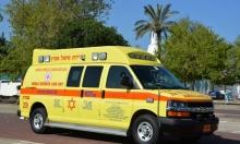 كفر قاسم: إصابة طفل في حادث سير
