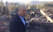 بينيت يستغل الحرائق للتحريض وتوسيع البناء بالمستوطنات