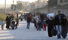 حلب: نزوح أكثر من 50 ألفا خلال 4 أيام