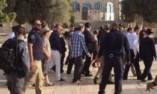 عشرات المستوطنين والمتطرفين اليهود يقتحمون الأقصى