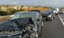 احذروا انزلاق السيارات: 3 إصابات بحادث قرب كفر مندا