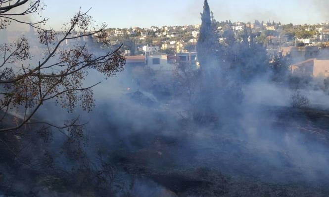 دير حنا: تصريح ادعاء عام ضد 3 شبان على خلفية الحرائق