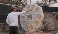 من أقدم الفنون: النحت على الصخر في سخنين
