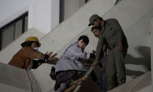 11 قتيلا و65 جريحا جراء حريق فندق في كراتشي