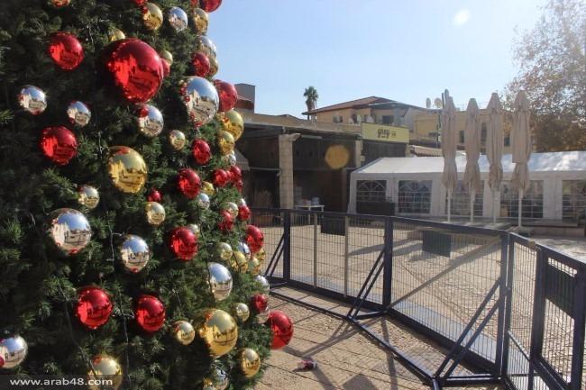 الناصرة: نصب شجرة الميلاد الأضخم في الشرق الأوسط