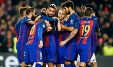 هاتريك لتوران بفوز برشلونة على مونشنغلادباخ