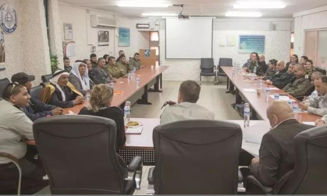 الجيش الإسرائيلي يعمق تغلغله بالمجتمع البدوي