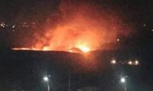 غارة إسرائيلية استهدفت المطار العسكري قرب دمشق