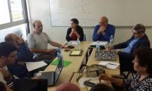 وفد جمعية المهجرين يلتقي طلاب الحقوق بجامعة حيفا