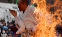 راهب بوذي يحرق نفسه احتجاجا على سياسات الحكومة