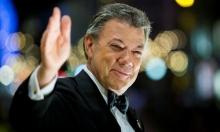 الرئيس الكولومبي يتسلم جائزة نوبل للسلام